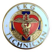 Prestige Medical Technician Pin Ekg