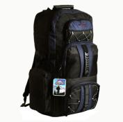 Large 65 Litre Travel Hiking Camping Rucksack Backpack Holiday Luggage Bag