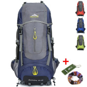 70L Backpack Trekking Travel Hiking Camping Mountaineering Climbing Outdoor Sport Large Rucksack