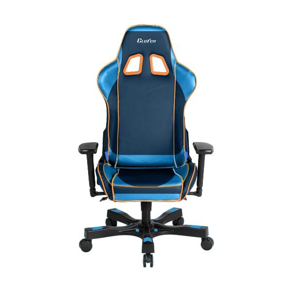 Clutch Chairz Premium Gaming/Computer chair, Black & Orange, 1-pack