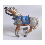 "Bullyland 80766 Figure ""Figurine World - Warhorse"" in Blue"