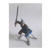 "Bullyland 80764 Figure ""Figurine World - Swordsman"" in Blue"