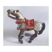 "Bullyland 80767 Figure ""Figurine World - Warhorse"" in Red"