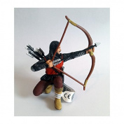 "Bullyland 80787 Figure ""Figurine World - Archer"" in Red"