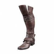 Sharplace 1/6 Scale Brown Long Boots for 30cm Hot Toys Dragon TTL Action Figure Accessories