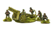 Warlord Games, Waffen-SS SIG 33 15cm heavy howitzer, Bolt Action Wargaming Miniatures