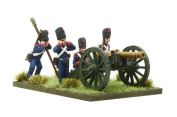 Warlord Games, Napoleonic French Imperial Guard Foot Artillery firing 12-pdr, Black Powder Wargaming Miniatures