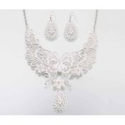 Butterfly Jewellery Set, Silver