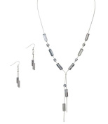 Unique Handcrafted Jewellery Austrian Crystal Necklace and Earring Set