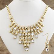 Cabaret Necklace & Earrings Set Design Toscano Cabaret Necklace Paris Jewellery