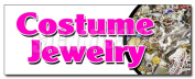 90cm COSTUME jewellery DECAL sticker bracelet earrings necklace watches silver