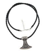 YNuth Viking Thor's Hammer Pendant Necklace for Men