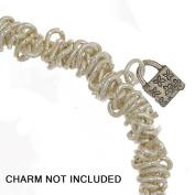Dazzle-It Chain Link Bracelet 18cm Silver w/Jump Ring 74201203