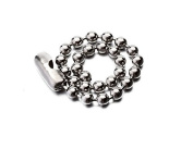 2.4MM Dia. Mini Bead Connector Clasp Ball for Chain Keychain