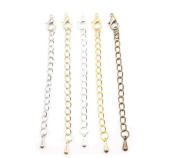 10PCS 5cm/7cm Necklace Bracelet Extender Chain with Lobster Clasp DIY Jewellery Making Accesories