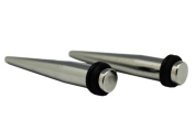 Solid Steel Stretching Taper Piercing