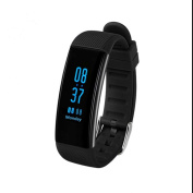 Touch Screen Smart Watch Bracelet Sport Fitness Tracker Wristband Smart Bracelet High Precision Bracelet Call SMS Smart Anti Lost Reminder Calories Measurement Compatible for Android Phone