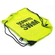 Boron NTO Swim Mesh Bags for Swimming Equipment with Drawstring Swimming Bag, Unisex, Mesh Beutel für Schwimmausrüstung