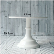 Grand baker cake stand 10 inch wedding cake tools adjustable height fondant cake display accessory for party bakeware white