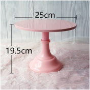 Grand baker cake stand 10 inch wedding cake tools adjustable height fondant cake display accessory for party bakeware pink