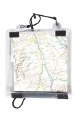 Mountain Warehouse Soft Feel Map Case - Welded Seams, Roll Top Closure with Hook and loop & Adjustable Neck Strap - Welded Seams for strength and durability