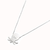 Tata Gisele© Octopus Octopus Necklace 925/000 Rhodium-Plated Silver – 38 cm