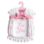 Profusion Circle Cute Synthetic Resin Mini Dress Shape Photo Frame for Baby Kids Birthday