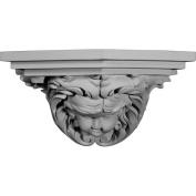 Ekena Millwork Angel 17cm H x 31cm W x 17cm D Shelf