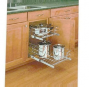 Rev-A-Shelf 2-Tier Pull-Out Cabinet Organiser
