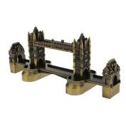 London Landmark Tower Bridge Statue Architectural Model London Souvenir Trip Gift Home Office Desk Ornament