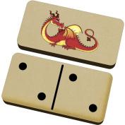 'Red Dragon' Domino Set & Box