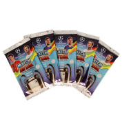 Topps UEFA Champions League Season 17/18 Trading Cards - Booster Set of 5 á 9 cards = 45 cards