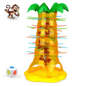 Monkey climbing tree game toy-BBsmile HOT Falling Tumbling Monkey Family Toy(One Size) Climbing Board Game Kids