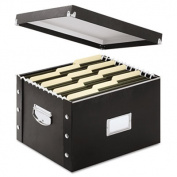 Snap N Store Storage Box, Letter/Legal, 16 1/4 x 9 3/4 x 13 1/4, Black, Sold as 1 Each