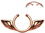 Nipple Rings non pierce pair Non-Piercing Clip On Nipple Ring / Angel Wings pair