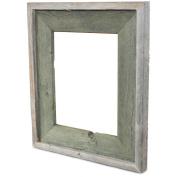 Recherché Furnishings' Reclaimed Wood Frame, Alligator Green Colour