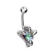 Dragon's Claw 316L Surgical Steel WildKlass Belly Button Ring