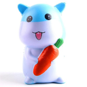HUHU833 Radish Rabbit Hamster Squishy Scented Slow Rising Squeeze Toy
