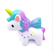 UPXIANG Hot Sale Exquisite Dreamlike Unicorn Squeeze Toy, Scented Squishy Charm Slow Rising Kids Squeeze Toy Stress Relief Toy for Adults