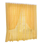 prelikes Rose Flower Window Treatments Sheers Screens Curtains Panels Home Bedroom Decor