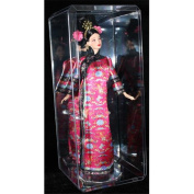 Athlon CTBL-d12163 Doll Crystal Display Case with Base - Clear - Large & 39cm .