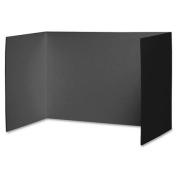 PRIVACY BOARD BLACK 48X16 4 CT- 6