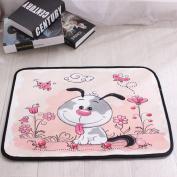 Non Slip Absorbent Pad Children Bedroom Door Bathroom Floor Mats Welcome Door Entrance Mat Carpet,B-40*60CM