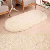 Mats Super Soft Thick Bedside Bedroom Blanket Living Room Round Carpet Polyester Pad Rugs,B-70*140CM
