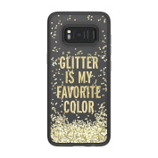 kate spade new york Liquid Glitter Case for Samsung Galaxy S8 - Glitter is My Favourite Colour/Chunky Gold Glitter/Clear