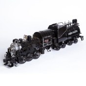 Longless Retro nostalgic Thomas double train car models exquisite window display Iron crafts creative gifts