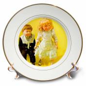 3dRose cp_731_1 Kammer and Reinhardt Dolls-Porcelain Plate, 20cm