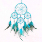 Fashion Handmade Dream Catcher Feathers Wall Hanging Decoration Minzhi