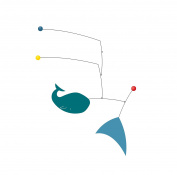 Decorative mobile LEO by Virvoltan