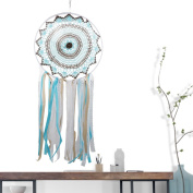 A-SZCXTOP Wall Hangings Single Ring Dreamcatcher Lace Tassel Dreamcatcher Home Decorative 30cm of the Ring Great for Gift
